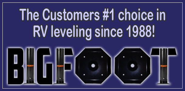 Customers #1 choice in RV leveling since 1988